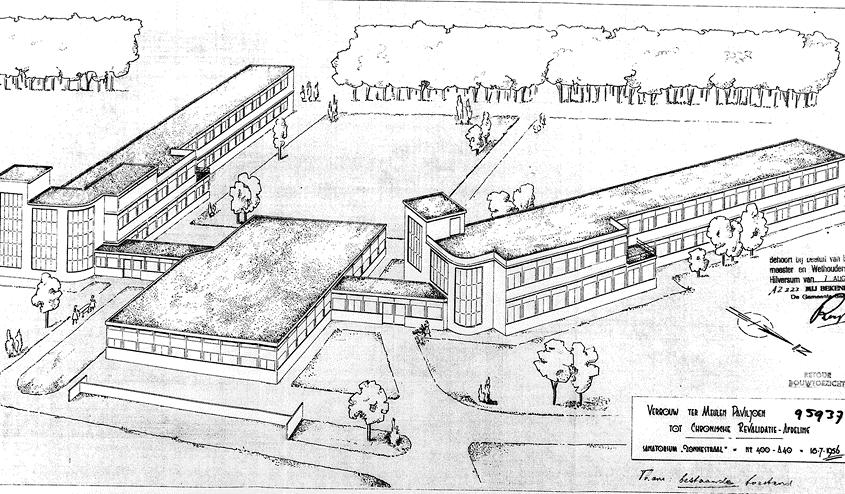 Plan verbouw Ter Meulenpaviljoen